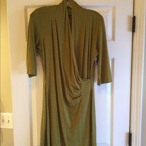 Dresses & Skirts - Carilyn Vale Olive Green Sheath Dress